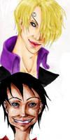 Sanji Luffy
