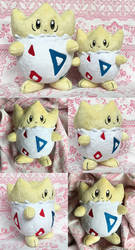 FOR SALE: Big and Little Togepi by Zareidy