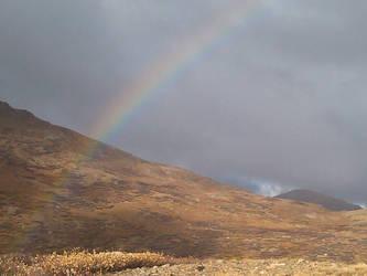 Continental Divide Rainbow by OrangeHuskie
