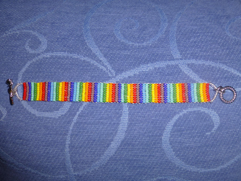 Rainbow bead 3 by Duck-With-No-Name
