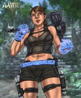Miss Croft collab by Ultamisia