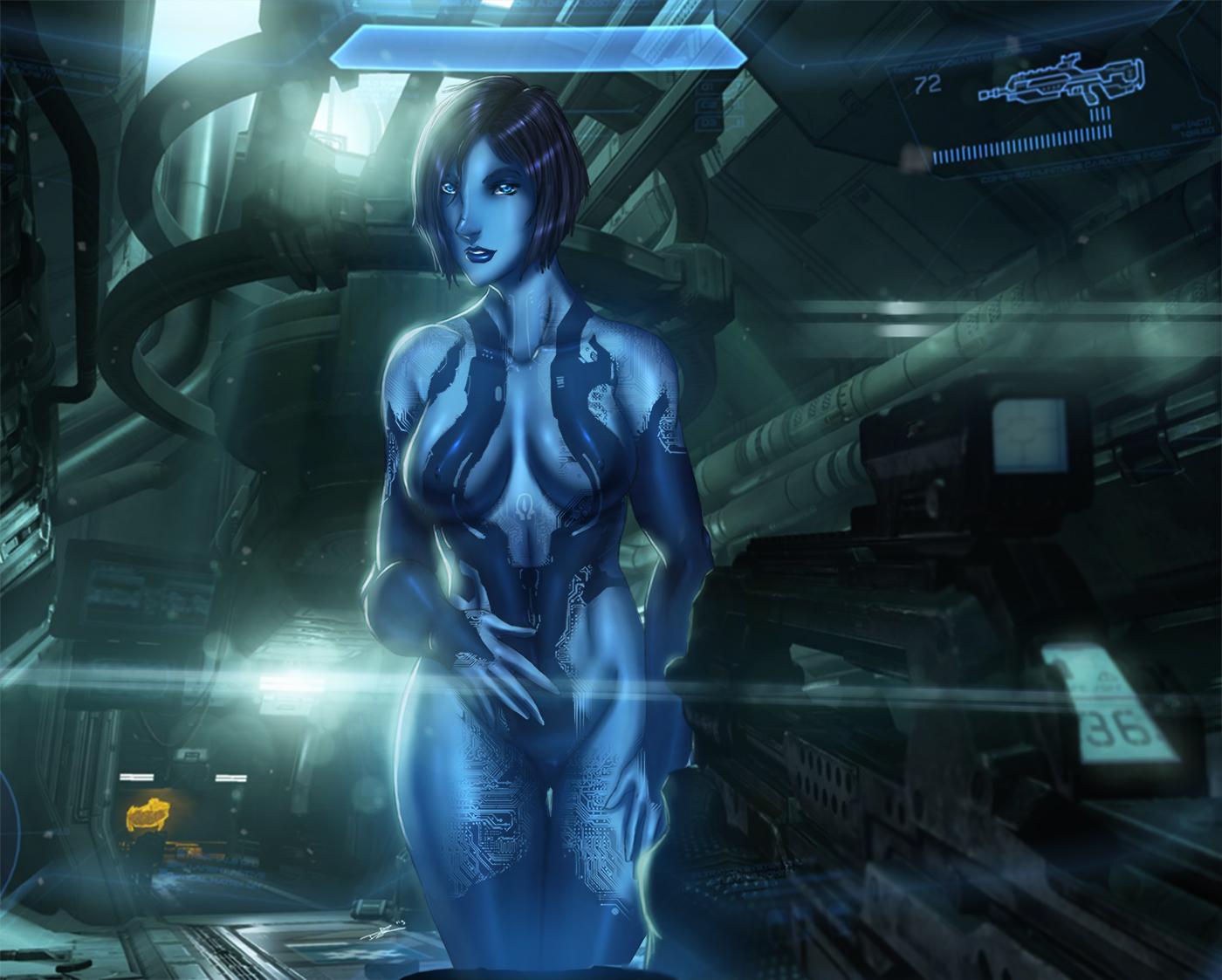Halo 2 cortana nude hardcore clips