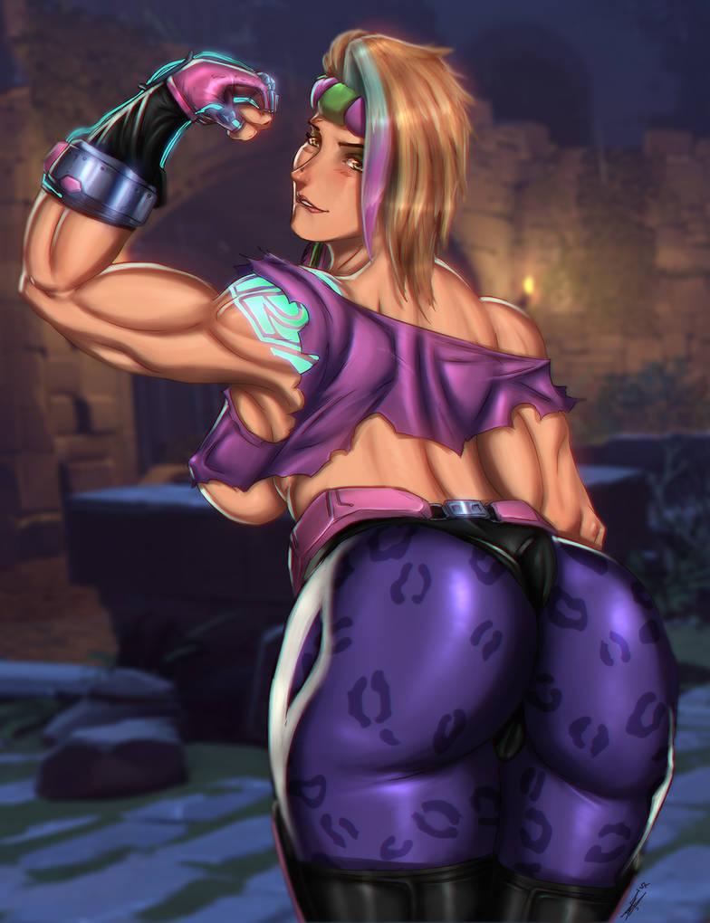 Zarya lets get physical!