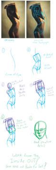 Fast figure drawing tutorial by RomanJones