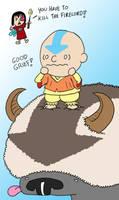 You're a good man, Aang