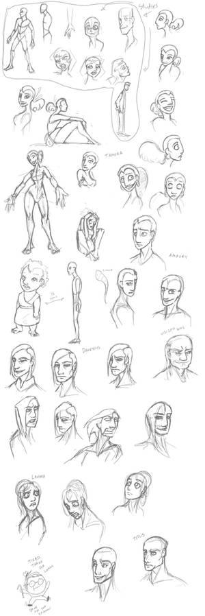 Tamora Sketches 1