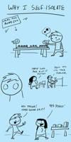 Fast comics: Self isolation