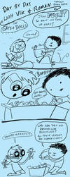 Fast Comics: Gays and Dolls by ChartreuseNoir