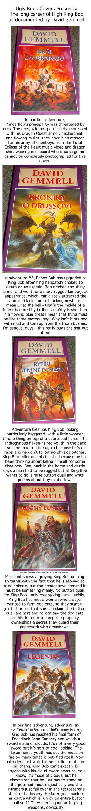 Ugly Book Cover Art : Ugly book covers king bob by romanjones on deviantart