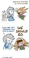 Frozen Comics - Ice Party