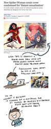 Bad Art - Marvel Cover Letter by ChartreuseNoir