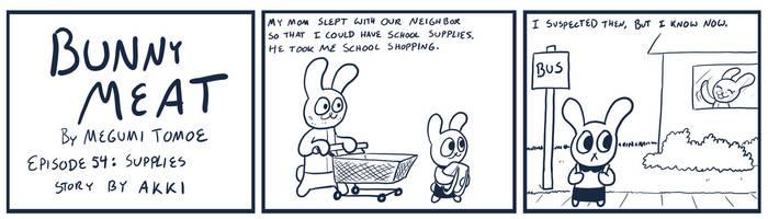 Bunny Meat 54: Supplies by RomanJones