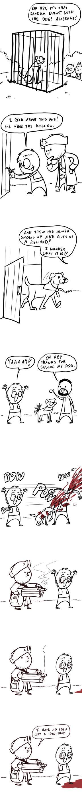 Fallout Comics 21: Dog Rescue by RomanJones