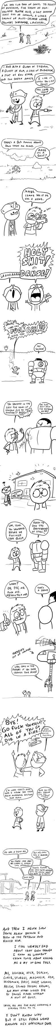 Fallout Comics #38: Unentombed by RomanJones