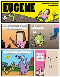 Art challenge: Eugene - A Walking Dead Comic by ChartreuseNoir