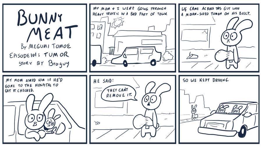 Bunny Meat 101: Tumor by RomanJones