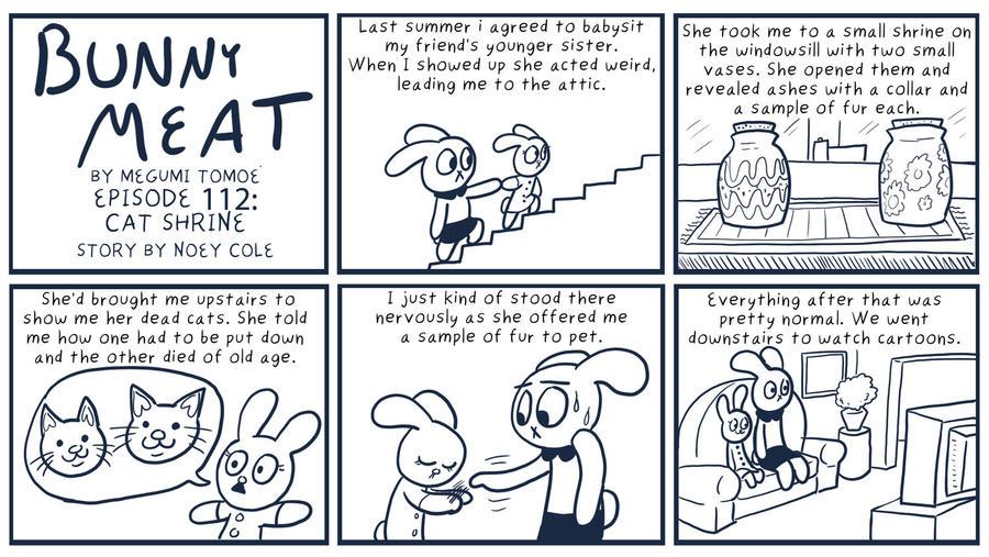 Bunny Meat 112: Cat Shrine by RomanJones