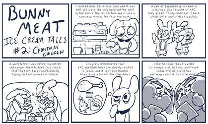 Bunny Meat: Ice Cream Tales #2: Christmas Chicken