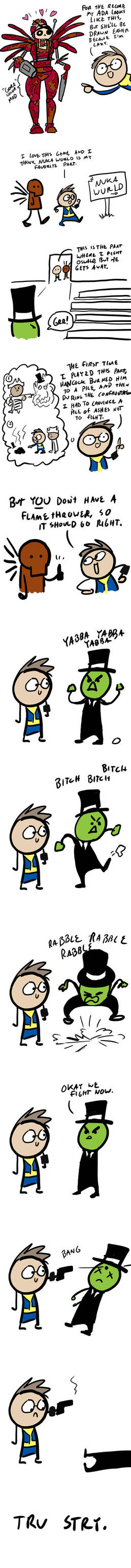 Fallout Comics #61 - Oswald Returns