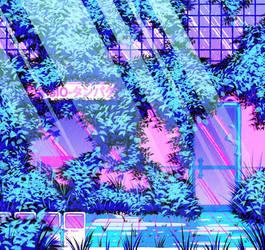 Vaporwave BG Test