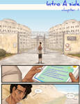 Evening Traffic - Ch.1 Intro Side A pg 1 by ChartreuseNoir