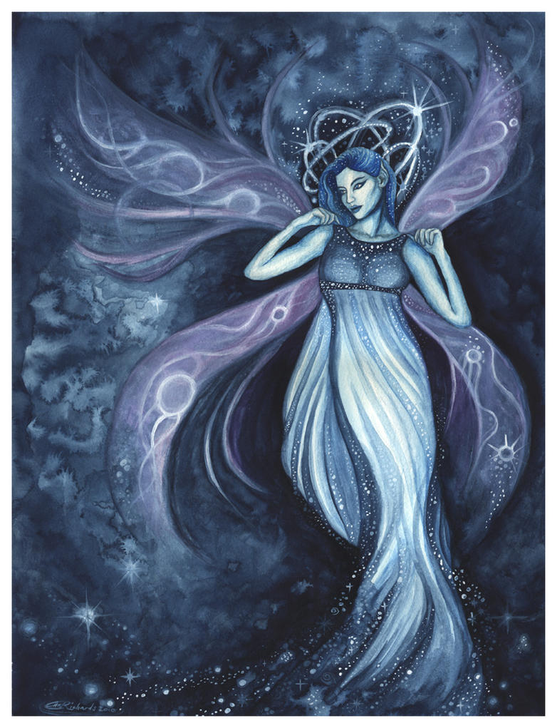 Goddess, Faery of Starlight by DragonTreasureArt on DeviantArt