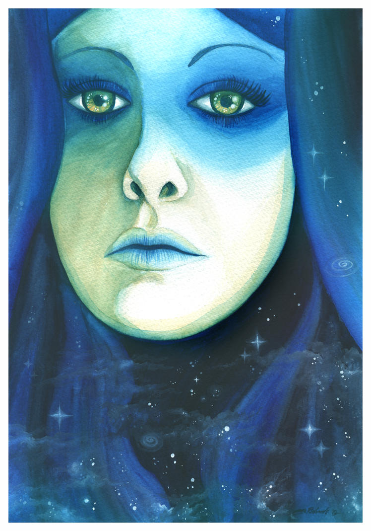 Lady Lunar by DragonTreasureArt