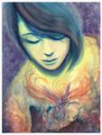 Mesmerised by Faery Magic by DragonTreasureArt