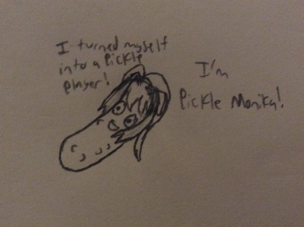 Pickle Monika by zambrony