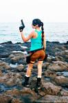 Lara Croft Tomb Raider Back