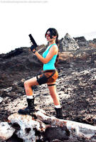 Lara Croft classic game by Frutodetuimaginacion