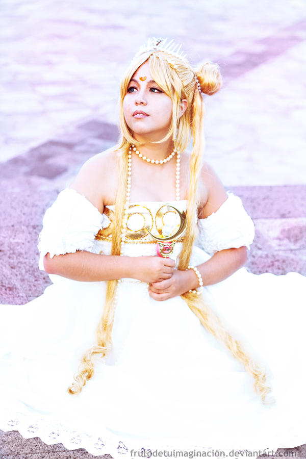 Serenity- Sailor Moon by Frutodetuimaginacion
