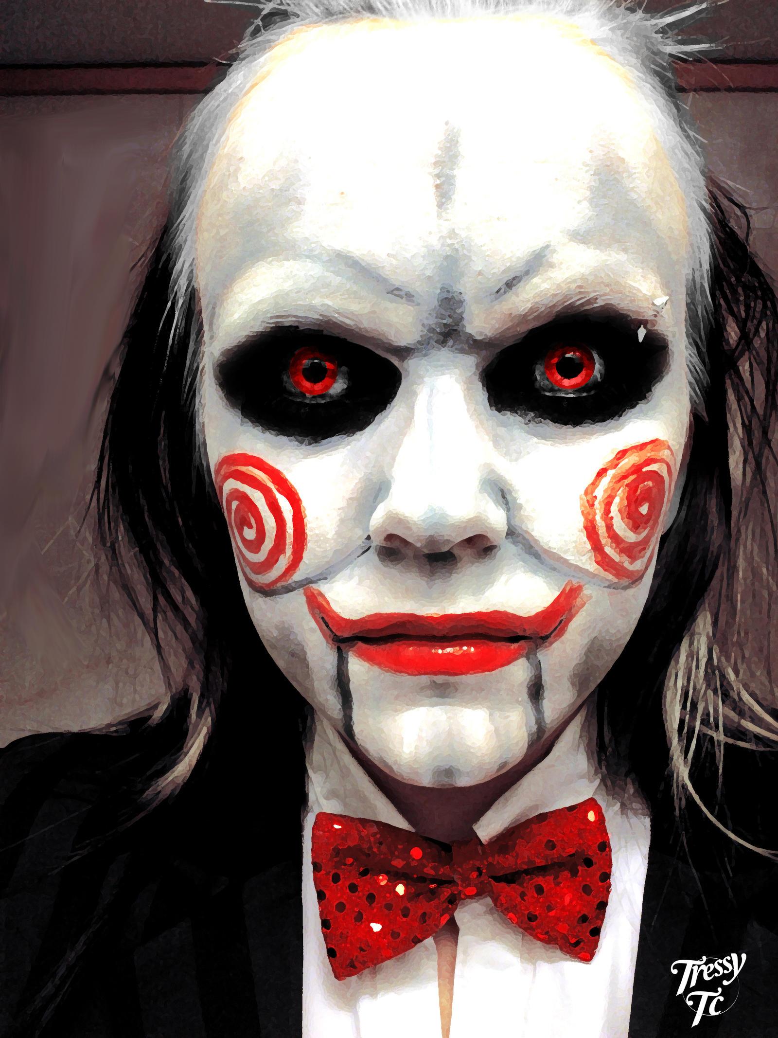 Saw Puppet Makeup - Mugeek Vidalondon
