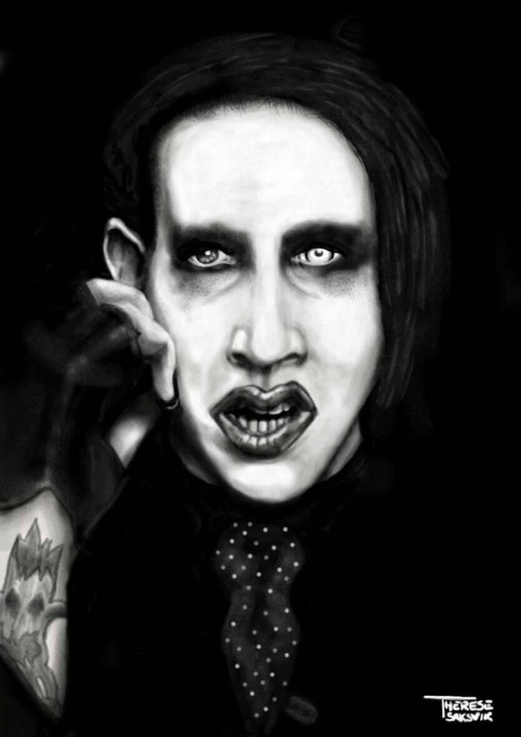 Marilyn Manson  by Tressytc
