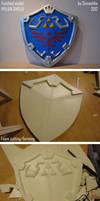 Hylian shield - how to