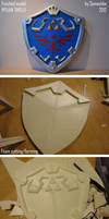 Hylian shield - how to by Semashke
