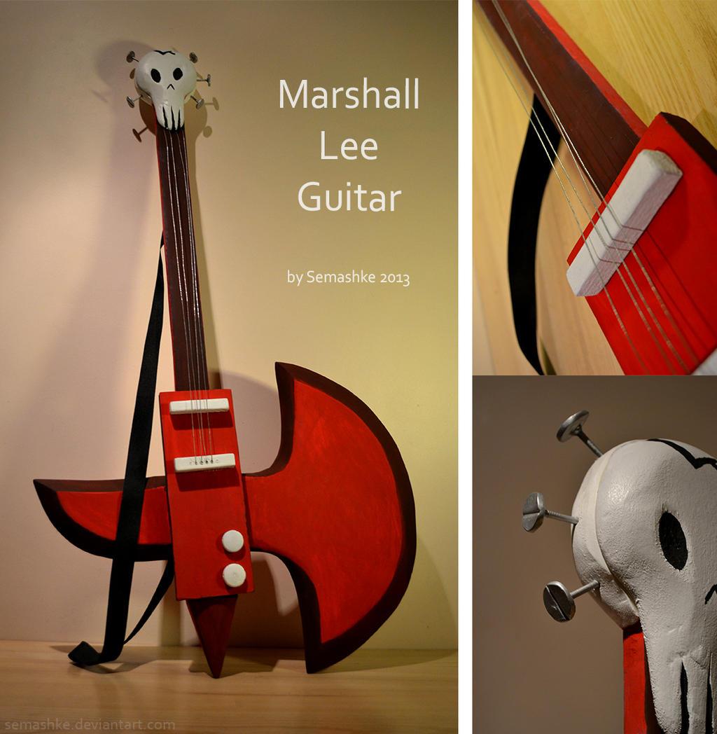 Marshall Lee guitar by Semashke on DeviantArt