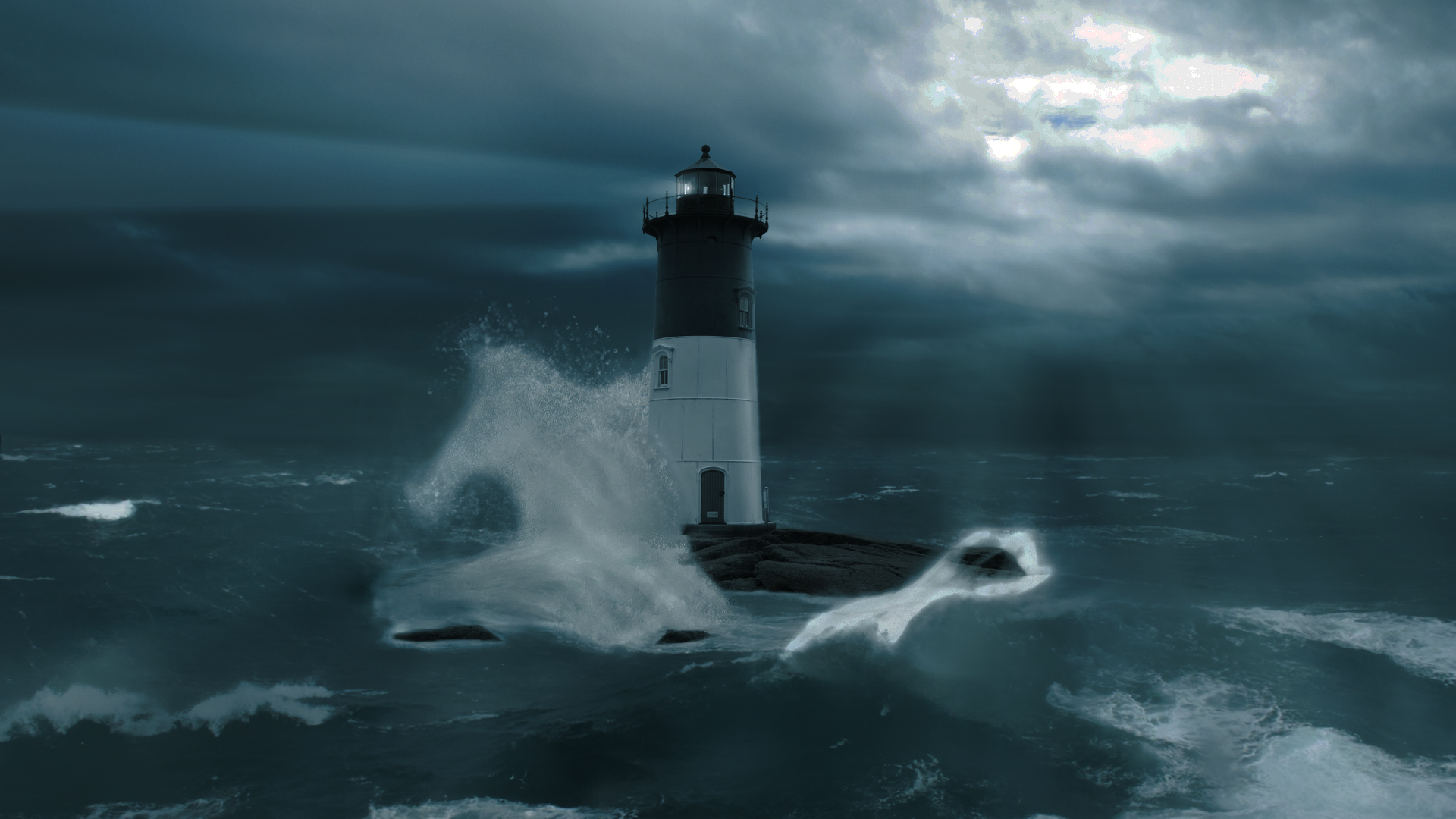 Lighthouse Storm by GunGodTheGreat on DeviantArt