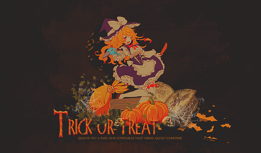 Galerie d'un escargot tout rose  Trick_or_treat_by_misatographisme-d8rps0f