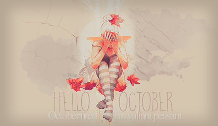 Galerie d'un escargot tout rose  Hello_october_by_misatographisme-d9mfkiq