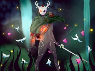 Hollow Knight OC (Meridiem Macante) by PonPonKittyKatt