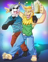 Party animals by Dragendorf