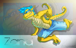 Zand, a gift drawing by Dragendorf