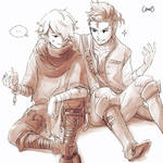 Alfyn and Therion