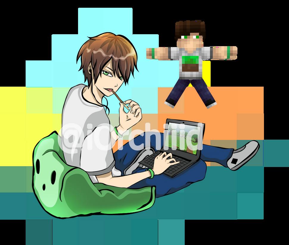 Minecraft skin anime style #1