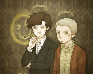 Let's Draw Sherlock by mutsy