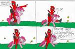 Giddyup, pony!