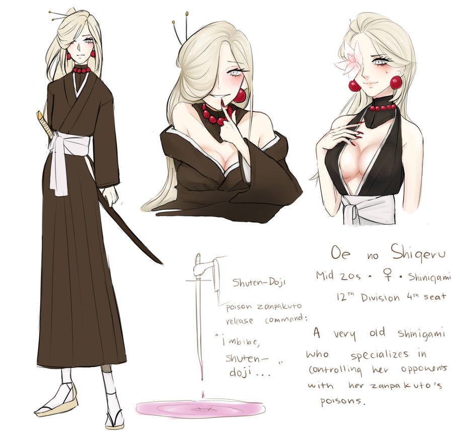 Bleach Oc [bio] By Seungcheol On DeviantArt