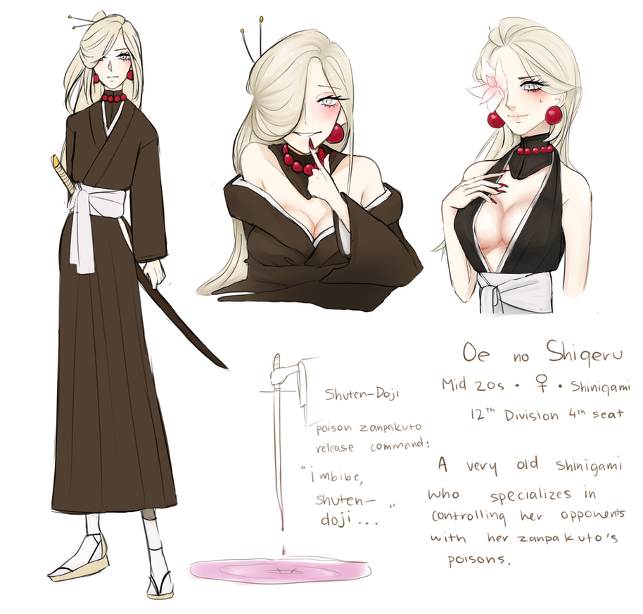 Bleach Oc Bio By Seungcheol On Deviantart