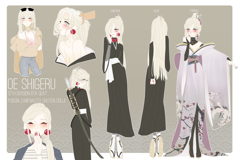 Bleach Female Oc – Migliori Pagine da Colorare